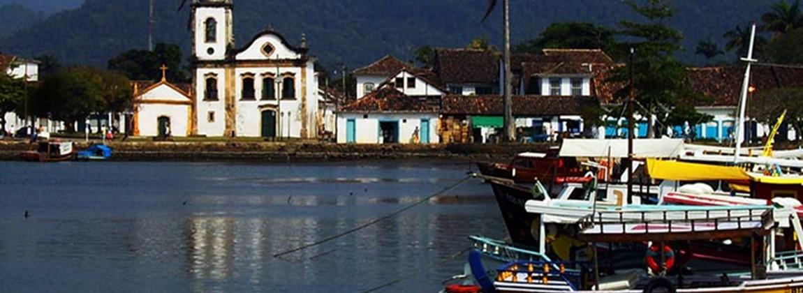 Vista da cidade Paraty.