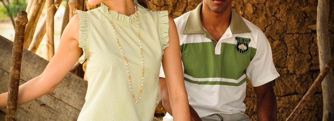 Modelos de blusas em algodão.