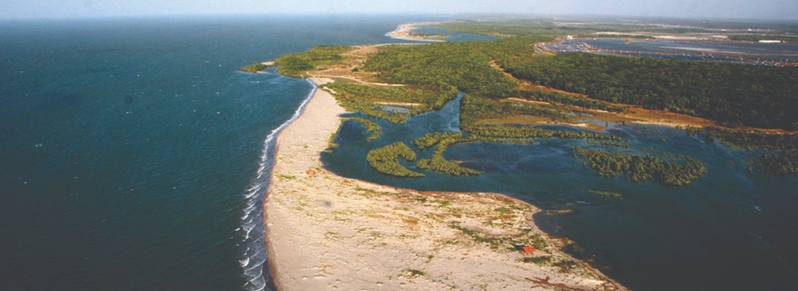 Vista aérea de Costa Negra.